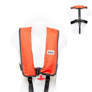 Marinepool Automatik Rettungsweste ISO Professional Harness 300N HR (Alpha-Red)