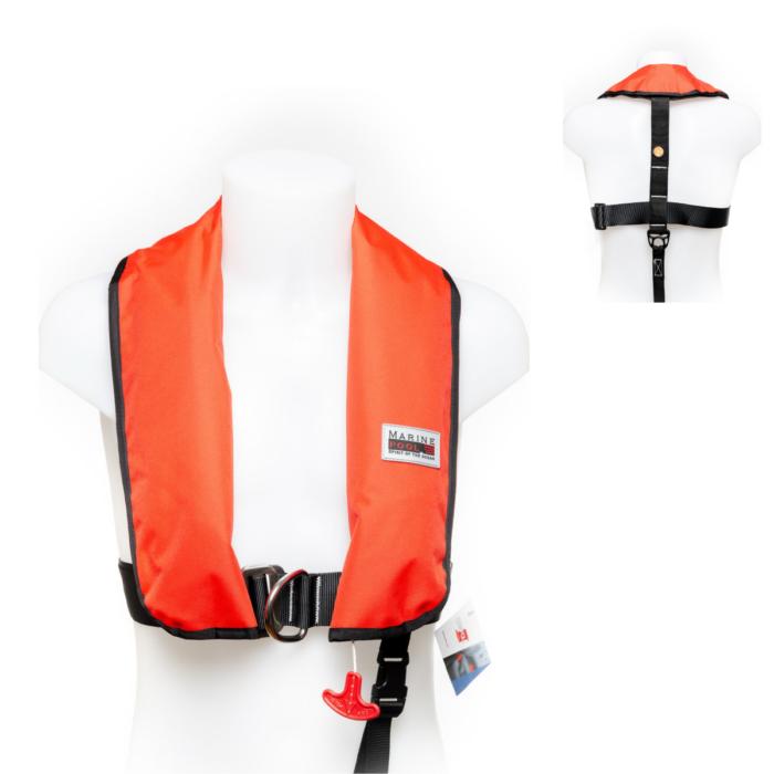 Rettungsweste von Marinepool   Automatik-Schwimmweste ISO 150N Classic Harness