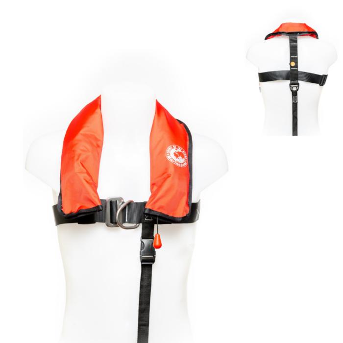 Rettungsweste von Marinepool | Kinder Automatik-Schwimmweste ISO 150N Children Harness