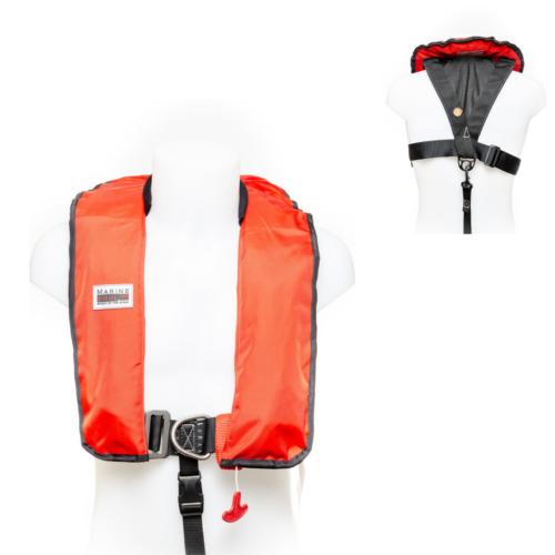 Schwimmweste von Marinepool | Automatik-Rettungsweste ISO 180N Premium Harness