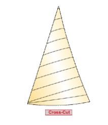 Horizontalschnitt Cross-Cut